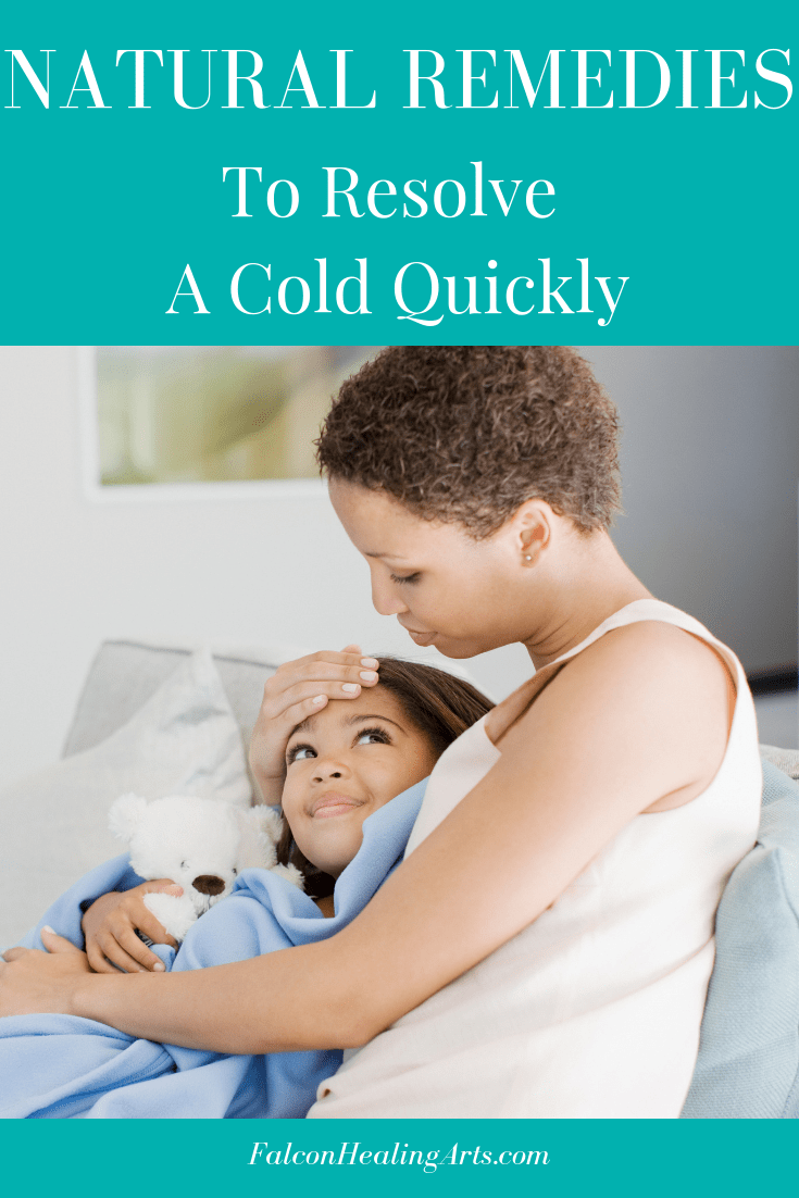 natural remedies to resolve a cold