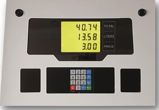 Akaryakıt Dispenser Led Aydınlatmalı Ekran