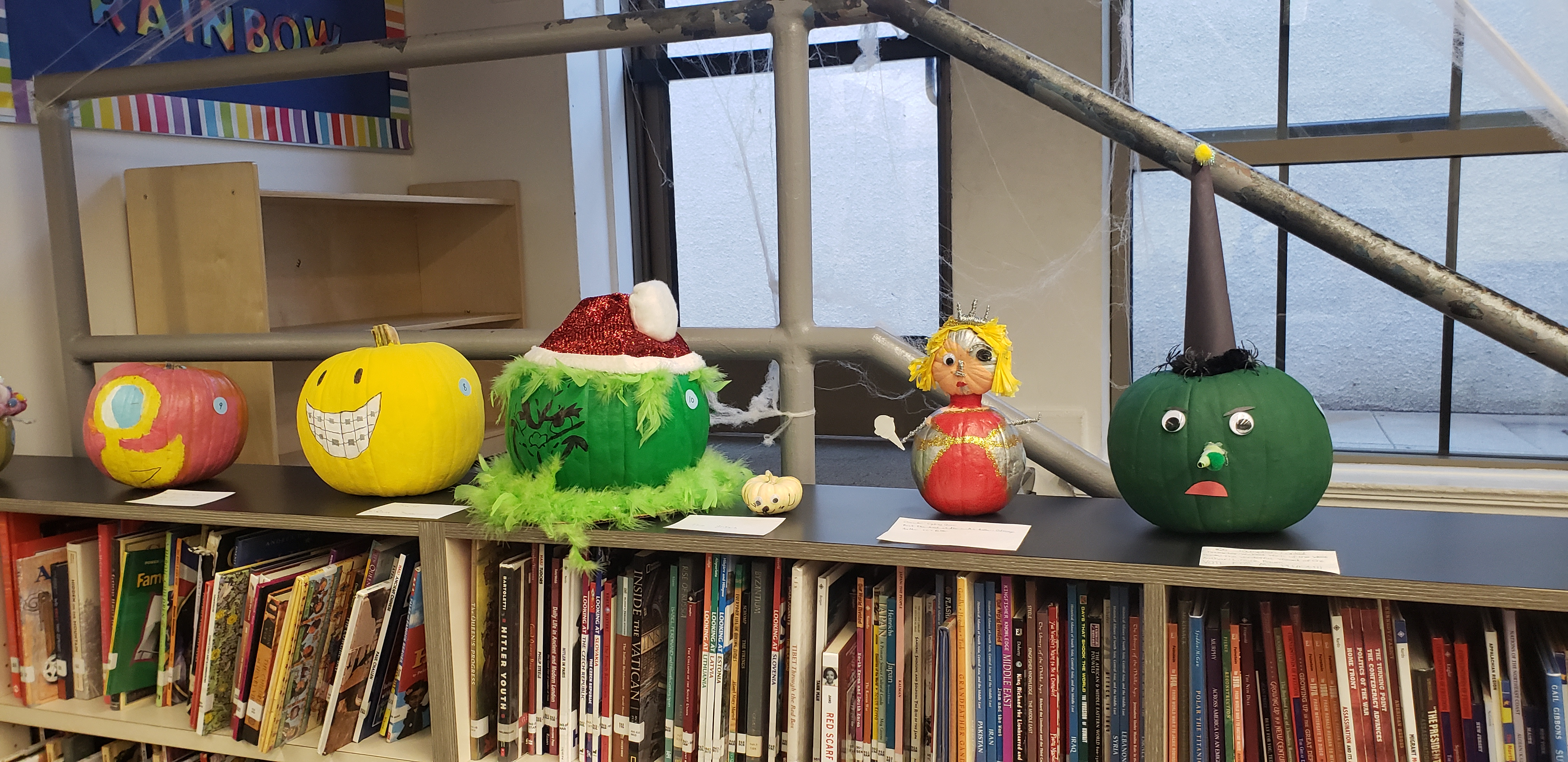 Book Character Pumpkin Decorating Contest The Falcon S Fables