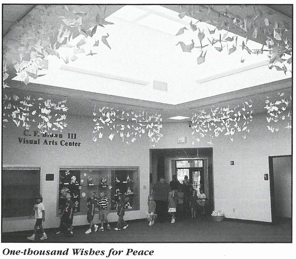 One Thousand Wishes for Peace Project 2004