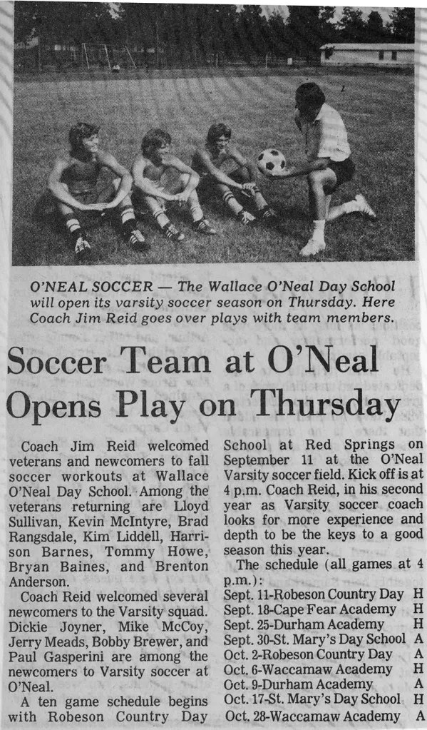 Early years of soccer - 1975