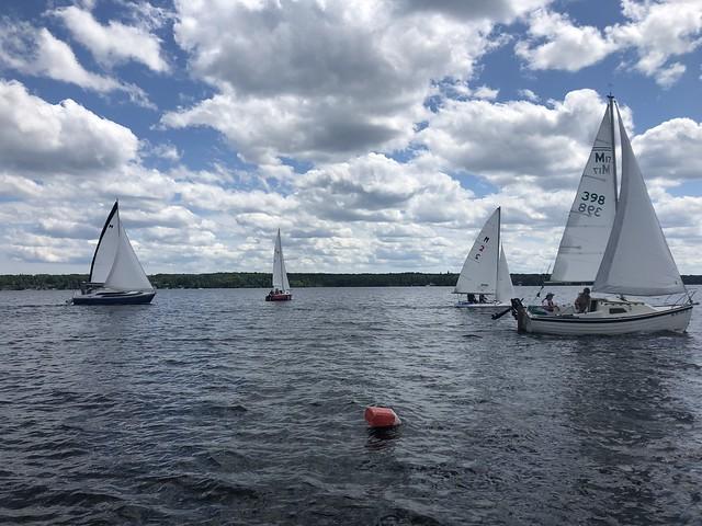 June Keel Boat Race