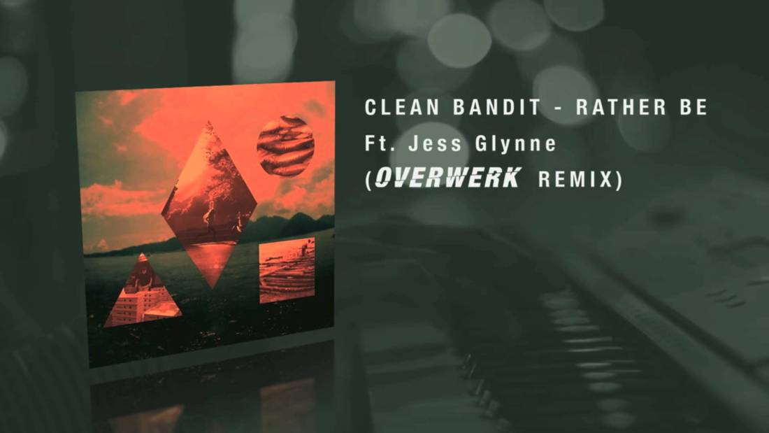 The dude's remix on Clean bandit's song is Sick!