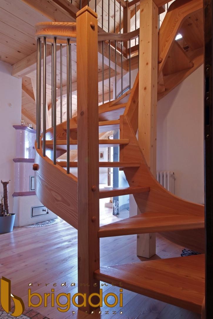 scala legno arredamenti brigadoi falegnameria val di fiemme