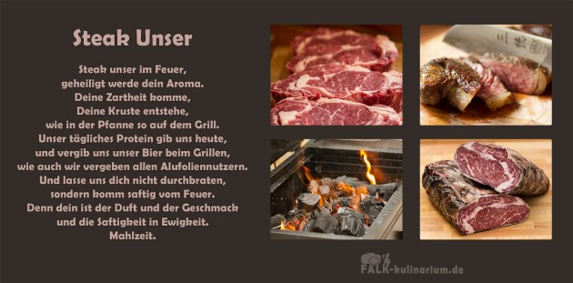 Steak Unser Falk Kulinarium