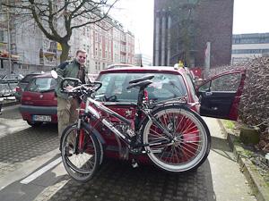 Omlastning av cyklar