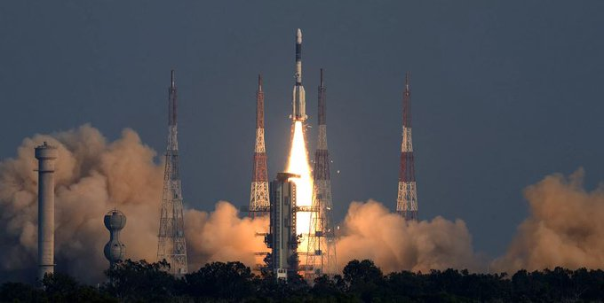 ISRO launched satellite