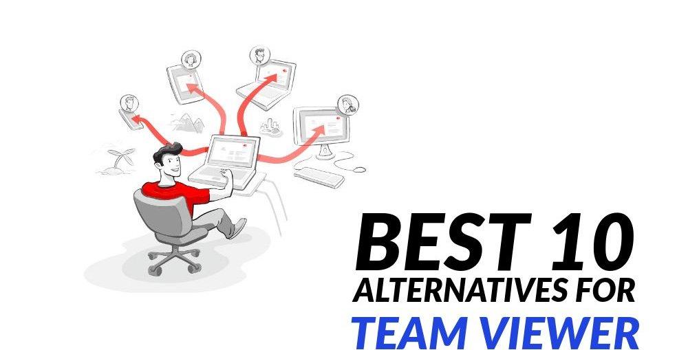 Best 10 Alternatives for Team Viewer in 2019