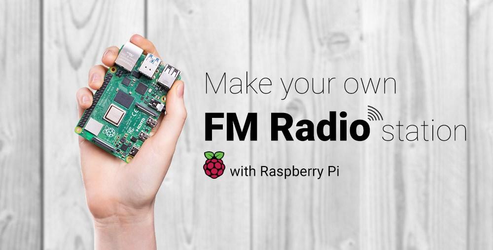 Make your own FM Radio Station using Raspberry Pi