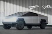 Hotwheels Tesla Cybertruck