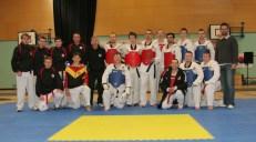 Taekwondo tag team