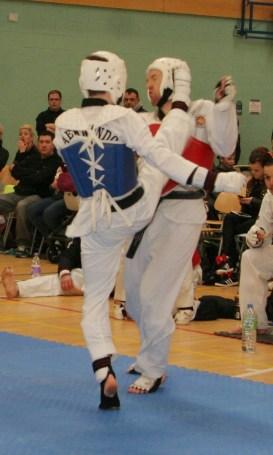 WTF Taekwondo Sparring