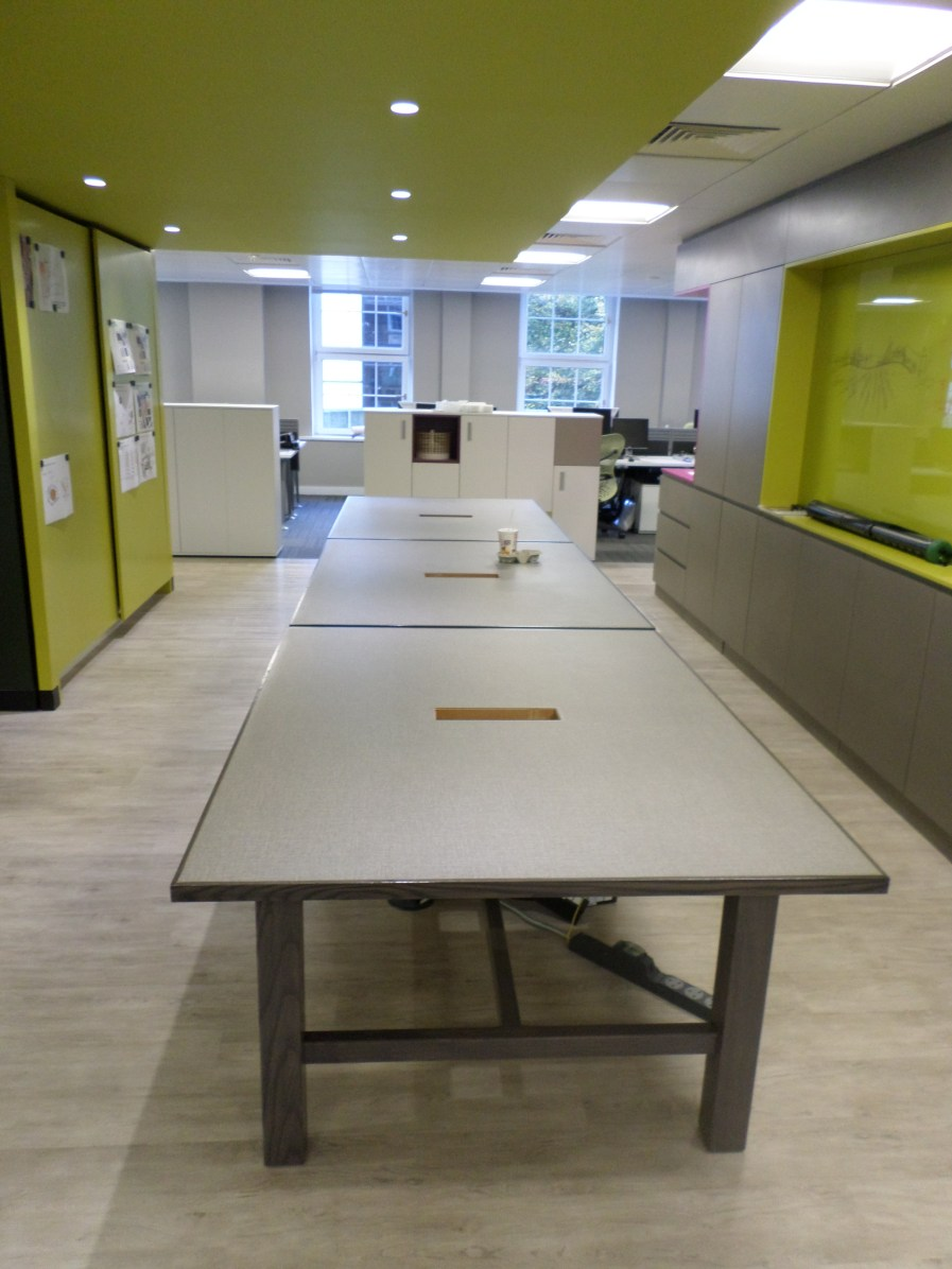 Bespoke joinery tables