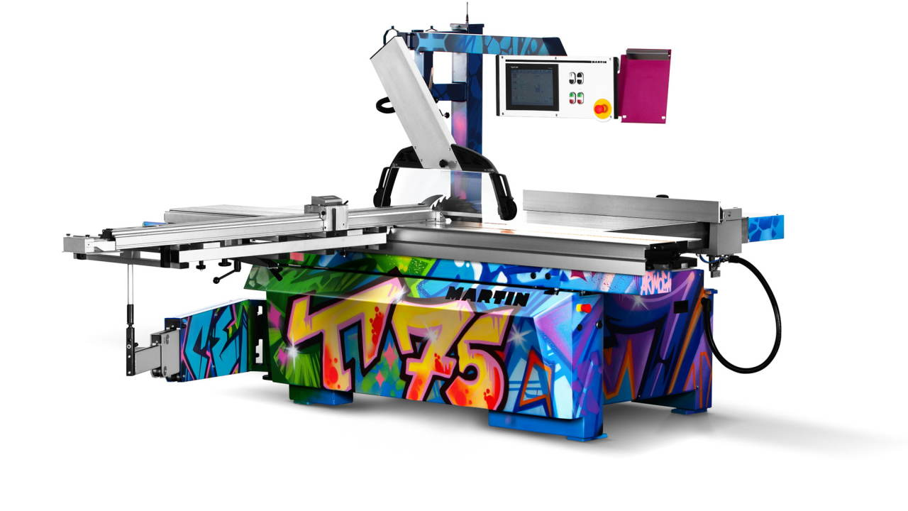 Graffiti joinery machinery