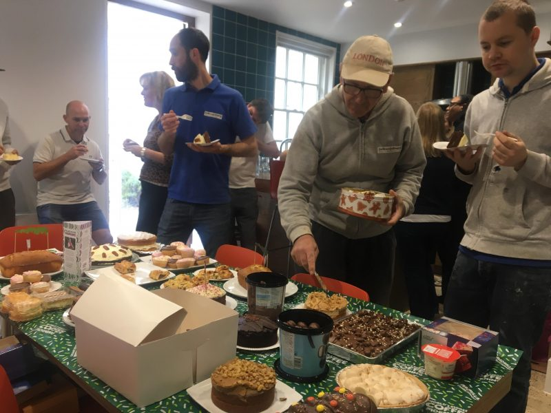 Macmillan cancer support bake sale