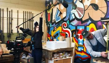 Filming-in-the-joinery-workshop