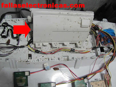 tarjeta electronica de lavadora mabe