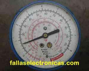 instrumento R409a 10 psi