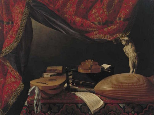 Evaristo_Baschenis_-_Still_life_with_musical_instruments,_books_and_sculpture_-_circa_1650_-_Museum_Boijmans_Van_Beuningen-min
