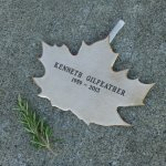 Ken Gilfeather's Leaf with rosemary and a cigarette