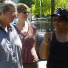 Carol Cameron, Pastor Melanie Neufeld & Queen Bea