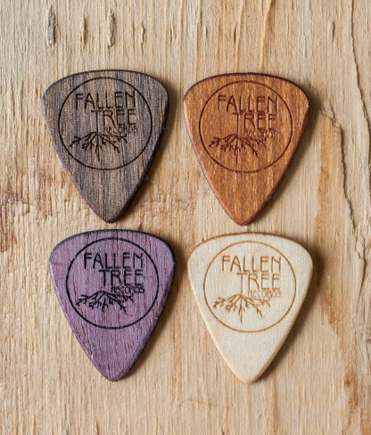 Photo of Fallen Tree Records guitar picks