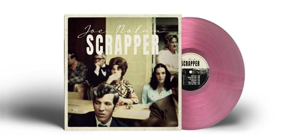 Joe Nolan - Scrapper - Hot Pink limited edition vinyl