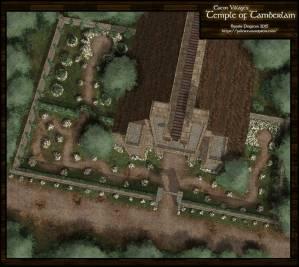 Temple of Tamberlain at Eaton Village