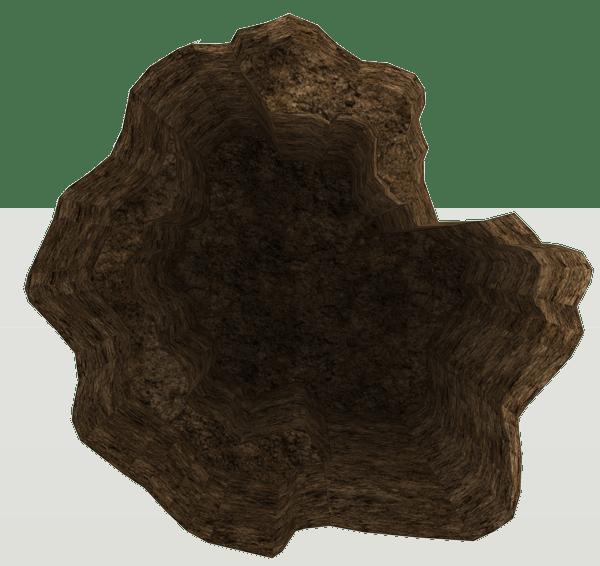Dirt Pitfall