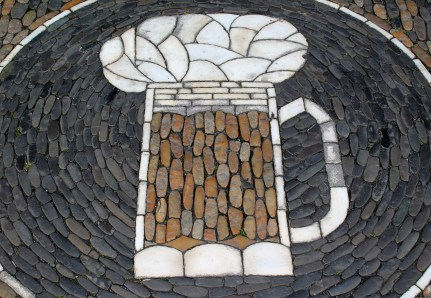 Found mosaic on the streets of Freiburg