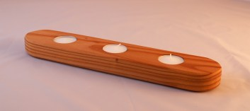 Redwood Tea Light Holder