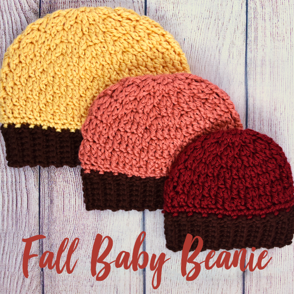Falling Spring Crochet Fall Baby Beanie Crochet Pattern Gallery Thumbnail