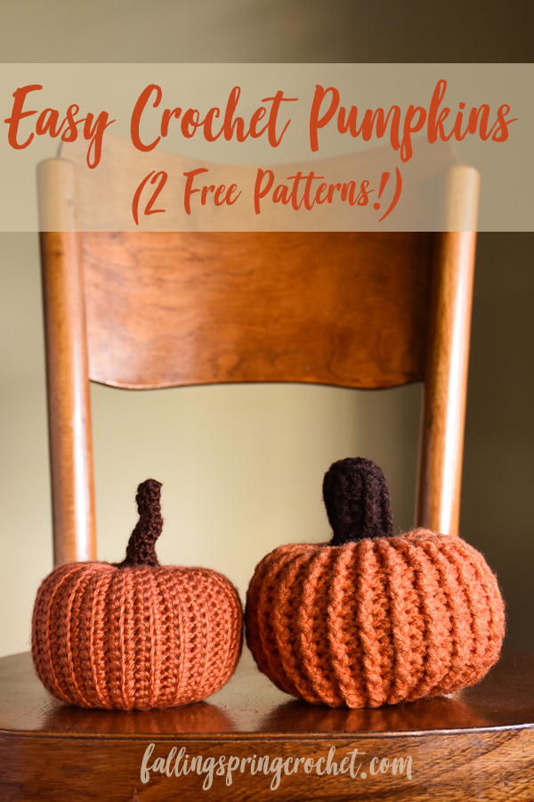 Falling Spring Crochet Easy Pumpkin Crochet Patterns Image