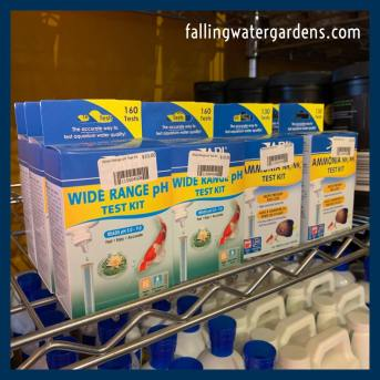 Wide Range pH Test Kit found at Falling Water Gardens, the Nursery in Monroe WA