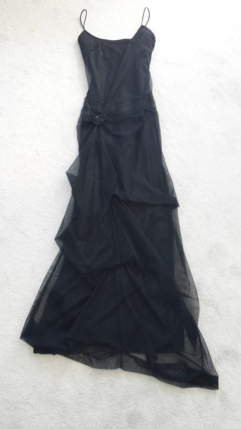 Isis lange zwarte jurk - GuessWhat! tweedehands kleding online