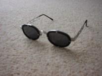 Bialucci zwarte zonnebril
