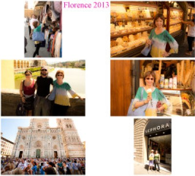 The first two days in Florence.  Photos by Bruce Wilder.