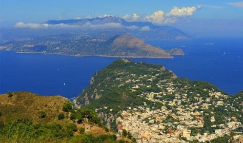 View of Naples from Anacapri. Photo by BW
