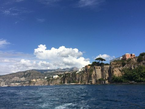 Coming into Sorrento. Photo by Kat