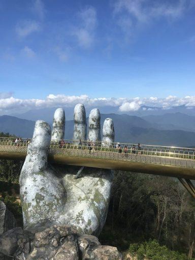 Golden Bridge , Da Nang , Vietnam