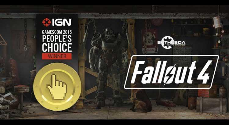 Fallout 4 zwycięzcą Nagrody Publiczności IGN