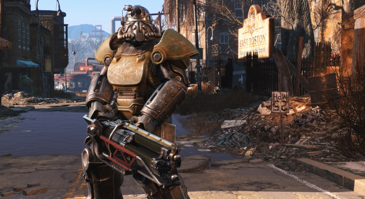 Fallout 4 - Pancerz Wspomagany