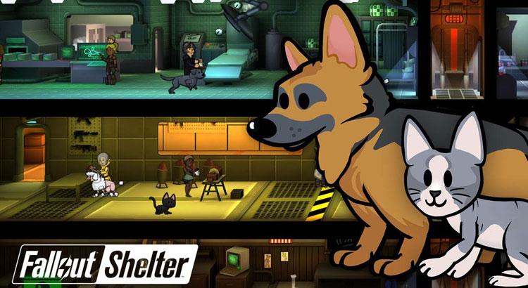 Fallout Shelter - zwierzaki
