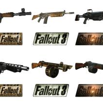 Fallout - porównanie broni automatycznej