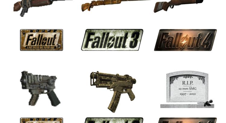 Fallout - porównanie broni palnej