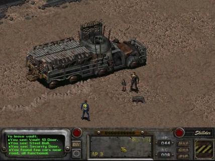 W różne rejony mapy można dostać się za pomocą różnych pojazdów...