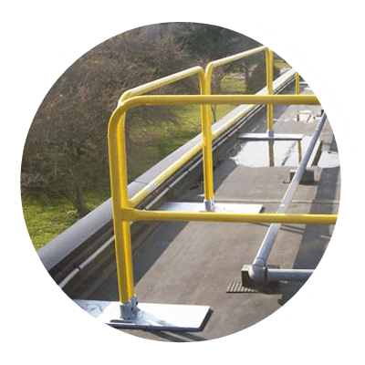 Fall Protection Solutions: Rooftop Guardrail System