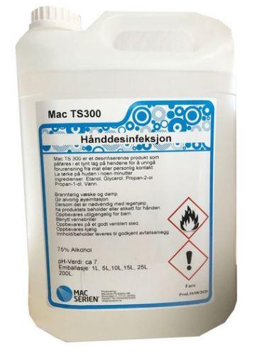Mac- TS 300-hånddesinfeksjon-desinfeksjon