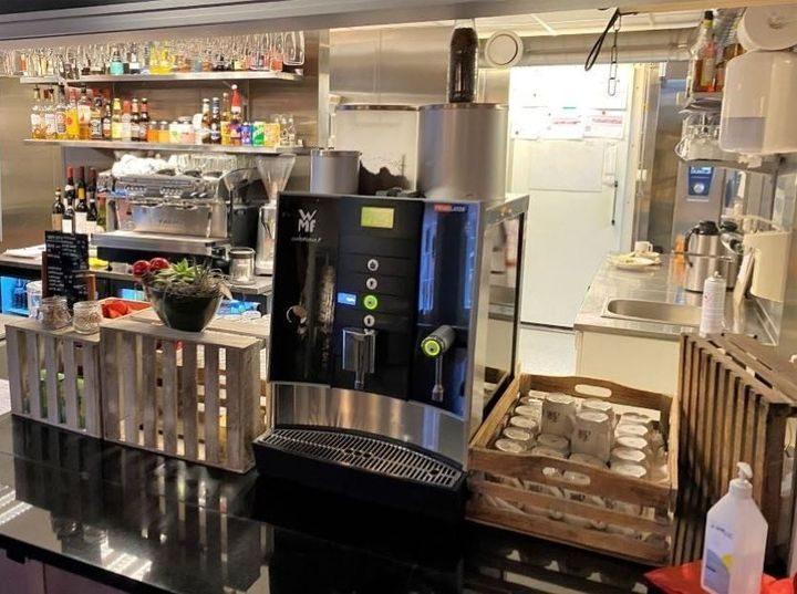 WMF Combination F Kaffemaskin Kaffestuggu