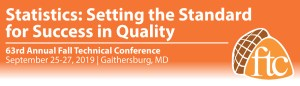 Fall Technical Conference, Spetember 25 - 27, Gaithersburg Maryland.
